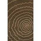 Bella Brown Area Rug Rug Size: Rectangle 3' x 5'