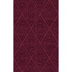 Bella Machine Woven Wool Red Area Rug Rug Size: Rectangle 8' x 10'