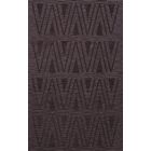 Bella Machine Woven Wool Purple Area Rug Rug Size: Rectangle 10' x 14'