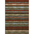Horizons Red Area Rug Rug Size: Rectangle 8'2