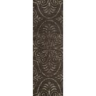 Quaniece Brown Area Rug Rug Size: Oval 3' x 5'