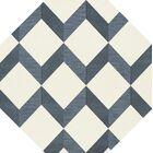Bella Blue/White Area Rug Rug Size: Octagon 4'