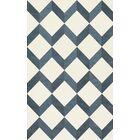 Bella Blue/White Area Rug Rug Size: Rectangle 3' x 5'