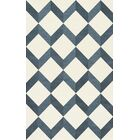 Bella Blue/White Area Rug Rug Size: Rectangle 12' x 18'