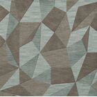 Bella Gray/Brown Area Rug Rug Size: Square 8'