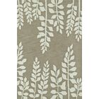 Journey Hand-Tufted Khaki Area Rug Rug Size: Rectangle 9' x 13'