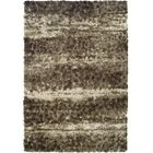 Zhora Taupe Area Rug Rug Size: Rectangle 3'3