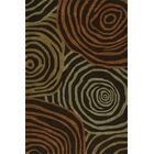 Gorham Hand-Woven Chocolate Area Rug Rug Size: Rectangle 8' x 10'