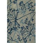 Gorham Hand-Woven Steel/Blue Area Rug Rug Size: Rectangle 9' x 13'