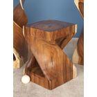 Suar Wood End Table