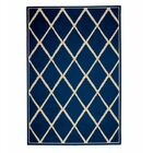 Surry Navy Indoor/Outdoor Area Rug Rug Size: Rectangle 6'7