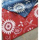 Lexington Bandana Red/White Indoor/Outdoor Area Rug Rug Size: Rectangle 6'7