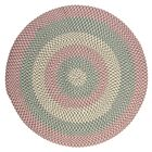 Carousel Bubble Green / Pink Area Rug Rug Size: Round 6'