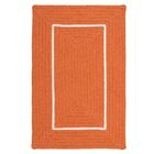 Doodle Edge Orange Border in Border Indoor/Outdoor Area Rug Rug Size: 2' x 3'