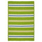 Painter Stripe Garden Bright Indoor/Outdoor Area Rug Rug Size: 5' x 7'