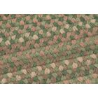 Gloucester Cabana Braided Green Area Rug Rug Size: Rectangle 5' x 8'