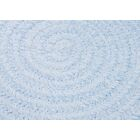 Spring Meadow Sky Blue Area Rug Rug Size: Oval Runner 2' x 12'