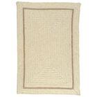 Shear Natural Canvas Area Rug Rug Size: Rectangle 10' x 13'