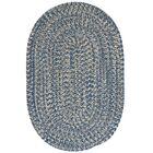 Maleah Denim Area Rug Rug Size: Round 12'