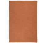 Irini Hand-Woven Orange Area Rug Rug Size: Rectangle 12' x 15'