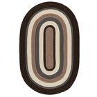 Brooklyn Brownstone Braided Indoor/Outdoor Area Rug Rug Size: Rectangle 5' x 8'