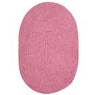 Spring Meadow Silken Rose Area Rug Rug Size: Oval 12' x 15'