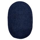 Spring Meadow Navy Area Rug Rug Size: Oval Runner 2' x 12'