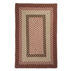 Tiburon Rusted Rose Braided Indoor/Outdoor Area Rug Rug Size: Square 8'