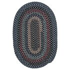Lettie Winter Blues Area Rug Rug Size: Oval 7' x 9'