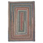 Gloucester Dusk Braided Red Area Rug Rug Size: Square 8'