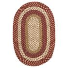 Fabric Multi Red Area Rug Rug Size: Rectangle 8' x 11'