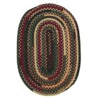 Market Mix Oval Winter Area Rug Rug Size: Oval Runner 2' x 10'
