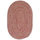 Tremont Rosewood Area Rug Rug Size: Oval Runner 2' x 12'