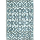 Baltimore Blue Indoor/Outdoor Area Rug Rug Size: Rectangle 5'3