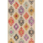 Laughlin Hand-Tufted Wool Beige Area Rug Rug Size: 8' x 11'
