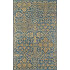 Worreno Hand-Tufted Wool Indoor Blue Oriental Area Rug Rug Size: Runner 2'3