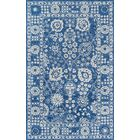 Worreno Hand-Tufted Wool Indoor Blue Area Rug Rug Size: Rectangle 5' x 8'