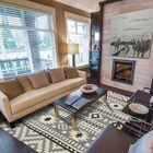 Heritage Handmade Gray Indoor/Outdoor Area Rug Size: 8' x 10'