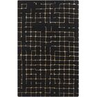 Byers Black Area Rug Rug Size: Rectangle 5' x 8'