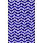 Denver Hand-Woven Violet /Iris Area Rug Rug Size: Rectangle 8' x 10'