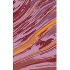 Scylla Orange/Magenta Area Rug Rug Size: Rectangle 2' x 3'