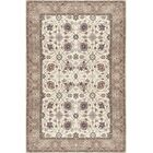Vickers Ivory/Gray Area Rug Rug Size: Runner 2'6