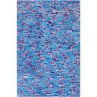 Denver Cobalt/Violet Area Rug Rug Size: Rectangle 8' x 10'