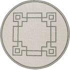 Pearce Machine Woven Beige/Moss Indoor/Outdoor Area Rug Rug Size: Round 7'3