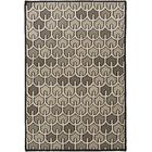 Criss Olive Geometric Area Rug Rug Size: Rectangle 5' x 8'