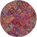 Tousana Handmade Magenta Area Rug Rug Size: Rectangle 9' x 13'