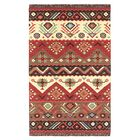 Double Mountain Hand Woven Wool Multi-Colored Area Rug Rug Size: Rectangle 8' x 11'