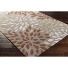 Carrie Hand-Tufted Rust/Lime Area Rug Rug Size: Rectangle 9' x 13'