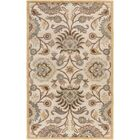 Phoebe Parchment & Teal Rug Rug Size: Rectangle 8' x 11'
