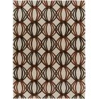 Stow Beige/Black Area Rug Rug Size: Rectangle 9' x 13'